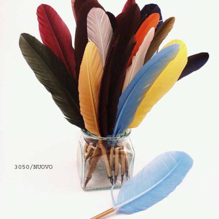 Nagy méretű színes toll mártogatós iron (penna)