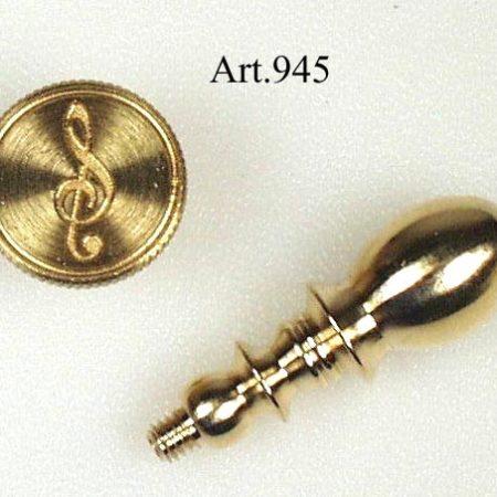 Kis figurás réz pecsételő (szimbólumok)