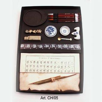 Nagy méretű kínai kalligráfia írókészlet