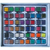 tintapárna négyzet alakú különböző színekben
