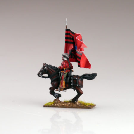 Lovas zászlós ólomkatona