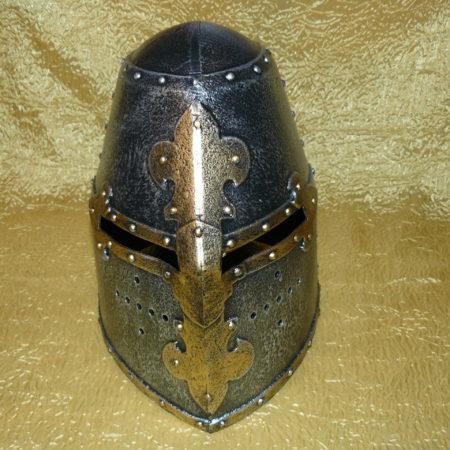 Középkori lovagi sisak - great helmet