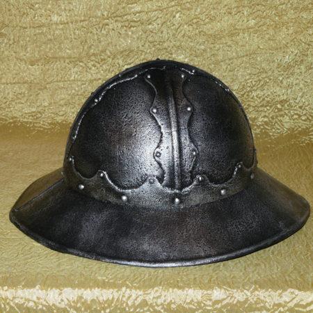 Középkori lovagi sisak - kettle hat