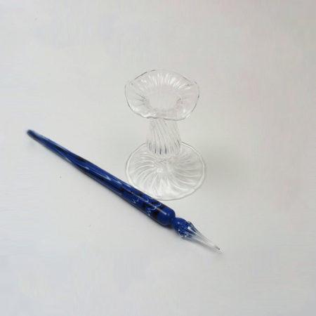 Üveg penna/iron tartó 6,5-7 cm (toll nélkül)