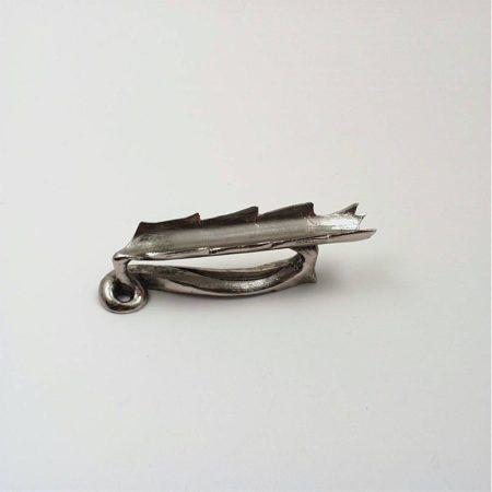 Levél formájú iron tartó (8 cm)