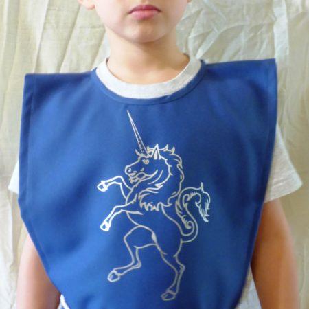Lovagi felöltő Unikornis mintával - egri várvédő