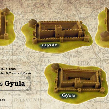 Gyulai vár vármakett