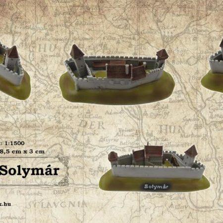 Solymár vára vármakett