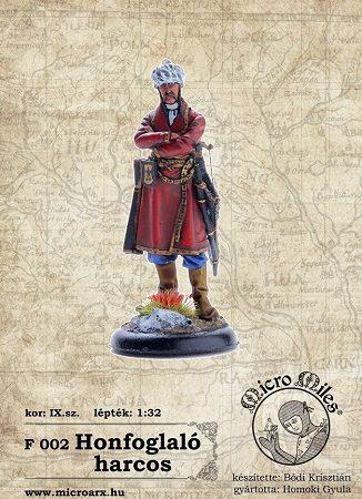 Honfoglaló harcos IX.sz.