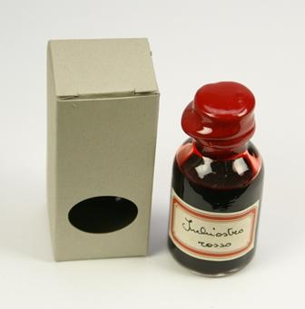 21 ml-es kis tinta parafa tetővel