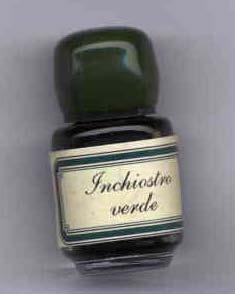 Kis üveges tinta különböző színekben, papírdobozban (5 ml)