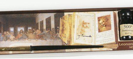 Írószerkészlet Leonardo jubileumi sorozatból
